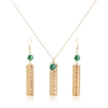 Decir hola a los 4 diseños Hawaiano conjuntos de joyas de perlas...