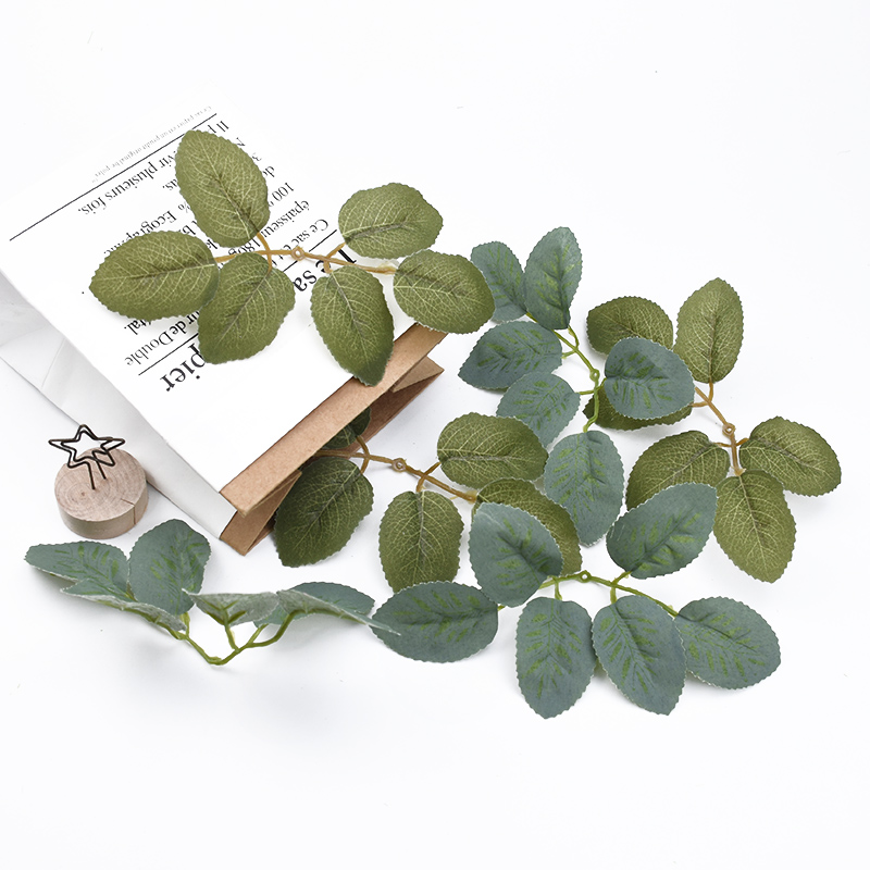 10/20 pcs Artificial plants decorative flowers wall Leaves DIY gifts candy box silk leaf christmas decor for home wedding bride