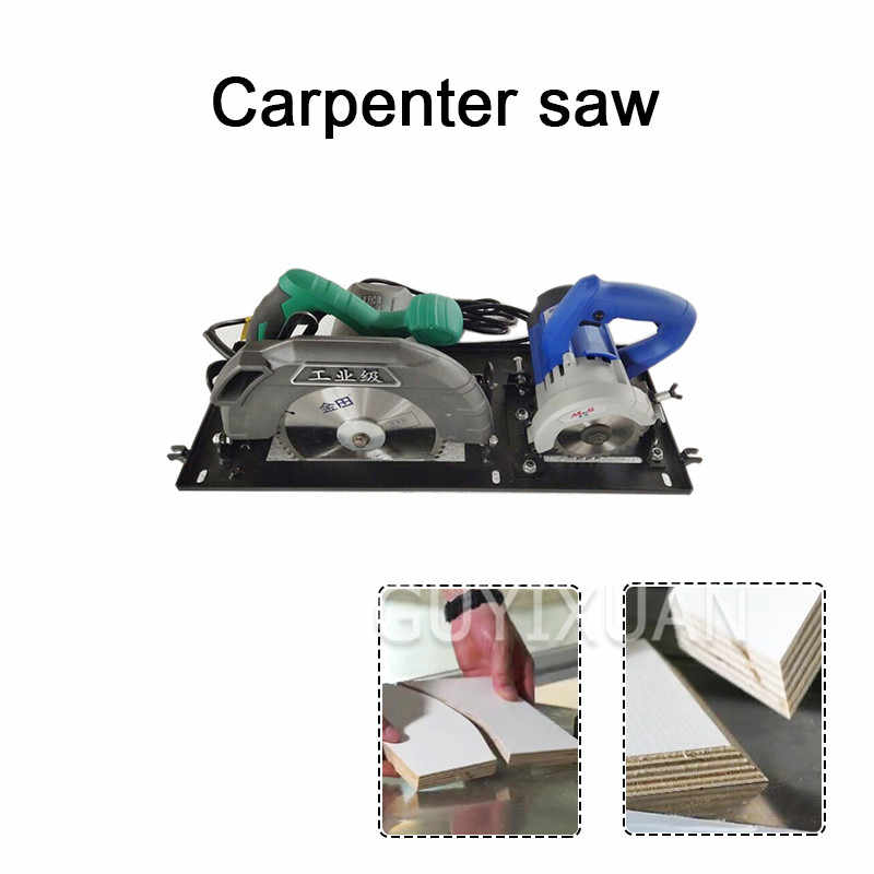 Dust Free Combination Saw Double Saw Blade Precision Home Improvement Woodworking Combination Saw All In One Table Saw Electric Saws Aliexpress