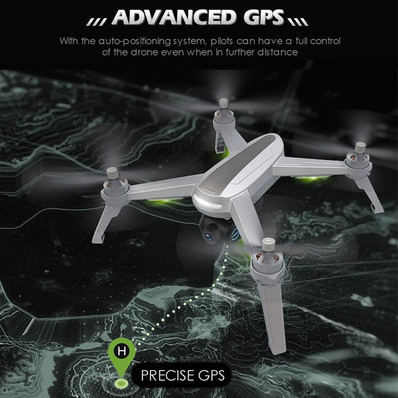 Новый gps, беспилотные летательные аппараты с Камера HD 1080P Профессиональный RC FPV WI FI 6 осевой селфи гоночный Дрон складной автоматический возв... - 5