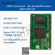 Ar9331 módulo wifi câmera porta serial transparente openwrt roteador placa de núcleo ultra rt5350 16 mb flash