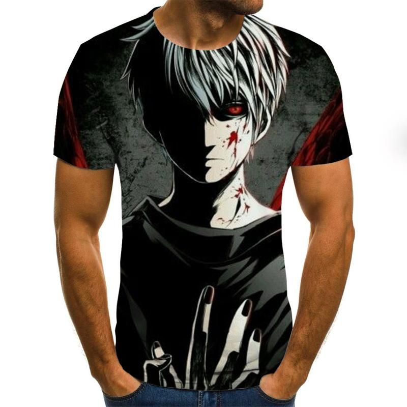 Summer Fashion 3D Printed T-shirt Men's/Women's T-shirt Harajuku Short-sleeved T-shirt Funny Individuality Shirt T-shirt 3