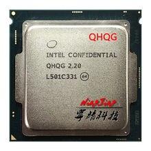 Intel core i7 es QHQG 2.2 GHz Quad-Core huit fils processeur d'unité centrale L2 = 1M L3 = 8M 6700K 6400T LGA 1151