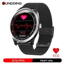 RUNDOING N58 EKG PPG smart watch mit ekg ekg display,holter ekg herz rate monitor blutdruck smartwatch