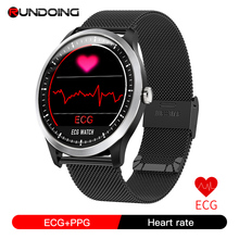 Rundoing N58 ECG PPG умные часы фитнес браслет с электрокардиографом