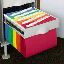 Висячие папки для файлов A4 регулируемые складские принадлежности Подача продуктов Ультра тонкие бумажные канцелярские принадлежности переплет документов