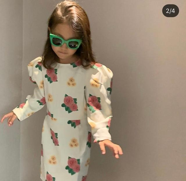 Girl Dress 2020 TAO Brand Autumn Winter New Cartoon Cotton Long Sleeve Kids Baby Girl Clothes Toddler Baby Christmas Dresses 6