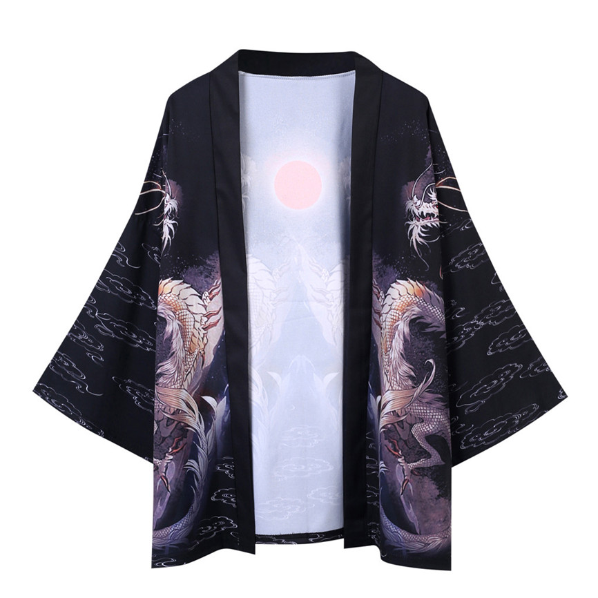 H65194f1ad9e741ef8626db3abe063c9fG Men's Windbreaker Coat Autumn Long Sleeve Lovers Fashion Retro Robe Loose National Print Creative Top Outwear Plus Size M-2XL A3