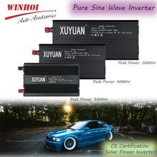 цена на Pure Sine Wave Inverter 3000/4000/5000W 12/24V to 110/220V Car Power Inverter Solar Power Inverter Charger Voltage Converter