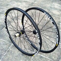 Ultra-léger excentrique jante frein à disque vélo ensemble de roues DTXT 26 27.5 29 pouces vtt montagne ensemble de roues 4 roulement en alliage d'aluminium roue