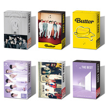 30pcs Kpop Bangtan Boys New Album BUTTER Lomo Small Card Set All Styles Collective Blessing Favorites Photocard