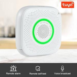 Image 2 - Tuya WiFi GAS LPG Leak detector alarm Security APP Control Safety smart home Leakage sensor