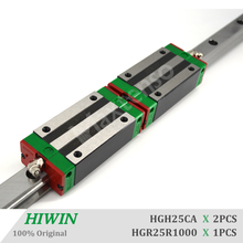 HIWIN HGH20CA 1000mm Linear Guideways Blocks Carriage HGR20 Linear Guide Rail High Precision CNC Parts for Machine Parts Z axis 1000mm hiwin egr30 linear guide rail from taiwan