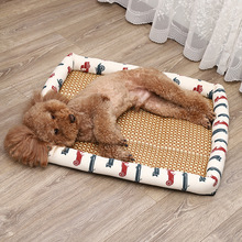 Spring and summer new cat dog mats, doghouses, cathouses, cool grass pet mats