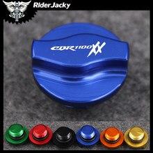 Para honda cbr1100xx cbr 1100xx cbr1100 xx 1997-2004 99 2000 2001 2002 2003 motocicleta óleo do motor plug filler capa parafuso m20 * 2.5