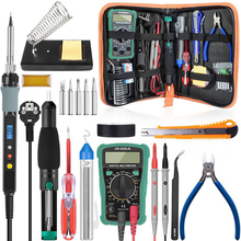 Soldering-Iron-Kit Multimeter Welding-Tool Temperature Digital Handskit 220V 80W
