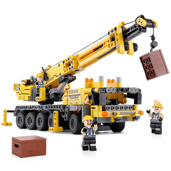 Yeshin 701800 Techinc Car Toys Compatible With 42009 Mobile Crane MK II Set Assembly Kids Toys Christmas Gift Building Blocks image