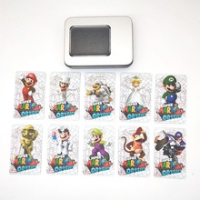 Card-Tag Ns-Switch Wiiu Super-Mario 10pcs Sticker Odyssey-Game-Card Ntag215 Prined