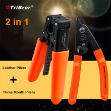 TriBrer pelado de cables de fibra de TTP 01 Miller 2 en 1, TTF 01, pelador de dos puertos, TTF 02