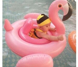 Flamenco piscina flotador flamenco inflat natación anillo bebé círculo hinchable Swan chico natación anillo piscina juguete babi flotador piscina