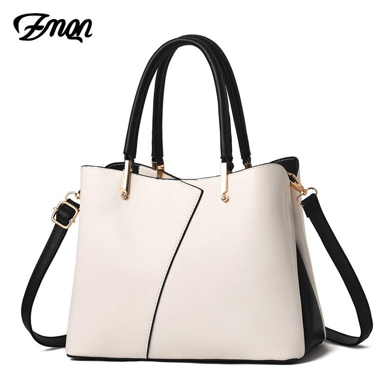 ZMQN Ladies Hand Bags Luxury Handbags Women Bags Designer 2019 White Crossbody Bags For Women Leather Handbag Female Bolsa A812