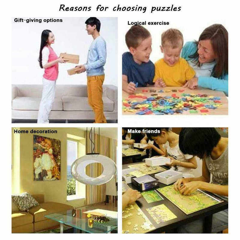 """1000 штук Пазл """"Луна и земля"""" сложно мозаика паззл для взрослых игрушки развивающие игрушки детские подарки 1000 шт Пазл """"Луна"""""""
