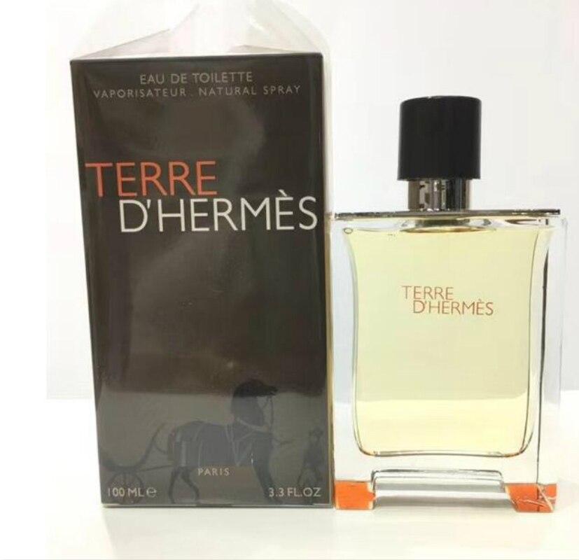100ML Original Perfume For Men Fresh Temptation Glass Bottle Male Parfum Long Lasting Fragrance Spray Gentleman Perfumes