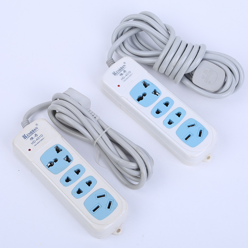 Heng dan 401D High Power with Long And Short Light 16A Large Jack Power Strip Multi Bit with Cable Outlet|Floppy Drives|Computer & Office - title=