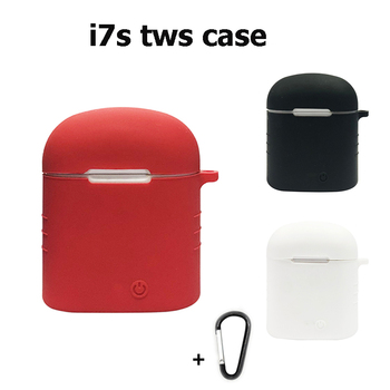 Bluetooth Headset i12 TWS Wireless Earphones case I9s Earphone i10s tws Earbuds i7S Silicone