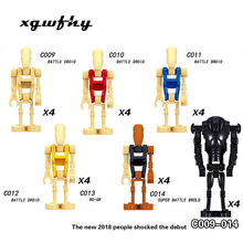Hot Star Series Space War Sale Storm Royal Guard Han Solo Count Dooku Darth Vader Maul Figures Building Blocks Kids Toys JM110