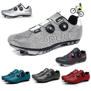 Hot Sale Cycling Sneaker Flat Shoes MTB Outdoor Professional Lightweight Locking Cleat Bicycle Shoes Breathable SPD Bike Shoes