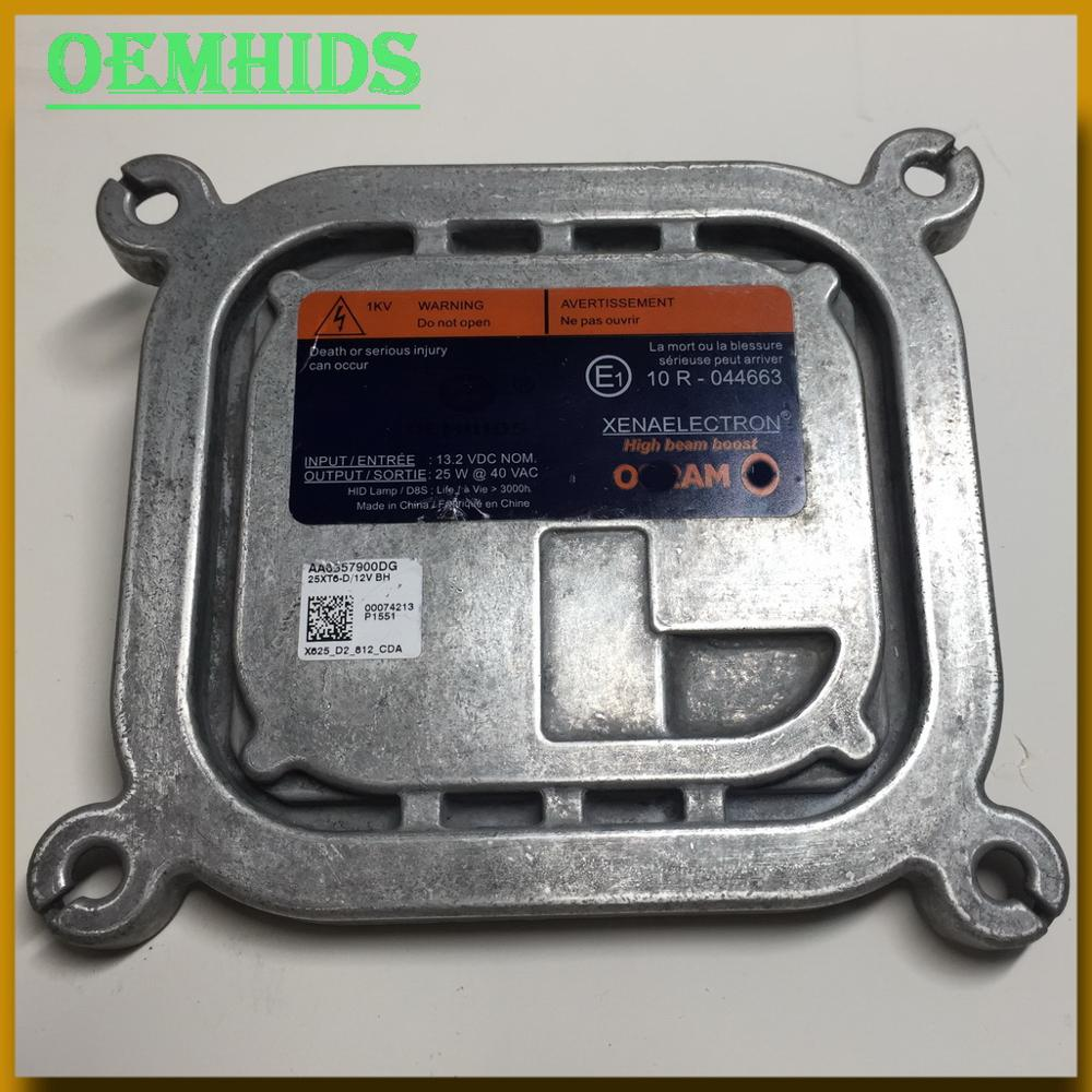 AA6557900DG OEM Ballast Used OEMHIDS original Xenon Headlight control unit for Mustang Hight beam boost <font><b>25W</b></font> D8S BALLAST 25XT6-D image