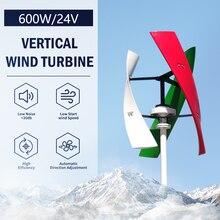 Turbina aerogeneradora de eje Vertical, molino de viento generador Maglev MPPT, controlador, 400W, 600W, 12V, 24V, 48V, envío desde almacén de Polonia