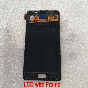 Image 3 - 100% оригинальный лучший датчик рабочего стекла ЖК дисплей сенсорный экран дигитайзер сборка с рамкой для Lenovo Vibe P2 P2c72 P2a42