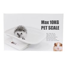 1g-10kg Electronic Pet Dog Cat Animal Scale Digital Baby Infant Weight Scale 3 Weighing Mode (kg/oz/lb) LCD Dropshipping B85C