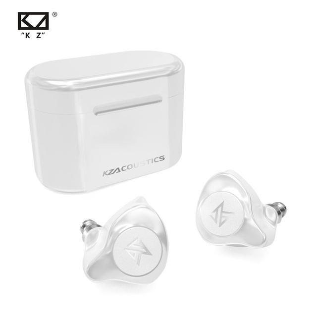 KZ S2 True Wireless TWS Earphones Bluetooth v5.0 Hybrid 1DD+1BA Game Earbuds Touch Control Noise Cancelling Sport Headset
