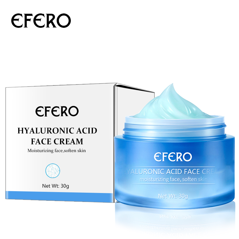 Image 5 - EFERO Hyaluronic Acid Essence Serum Aloe Vera Day Cream Face Cream Moisturizing Anti Aging Wrinkle Whitening Bright Face Cream-in Serum from Beauty & Health