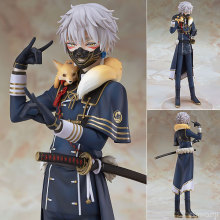 New Arrival Anime Action Figure Game Touken Ranbu Online OR Nakigitsune 23cm PVC 1/8 Scale Pre painted Figure Collectible Toys