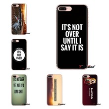 Funda de silicona para Samsung Galaxy S2 S3 S4 S5 MINI S6 S7 borde S8 S9 Plus nota 2 3 4 5 8 funda que no supera las frases(China)