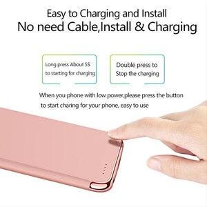 Image 5 - 3500/4000 2200mahのスリム超薄型電話のバッテリーケースiphone 6 6s 7 8電源銀行バックアップ充電器ケース6 6s 7 8プラス