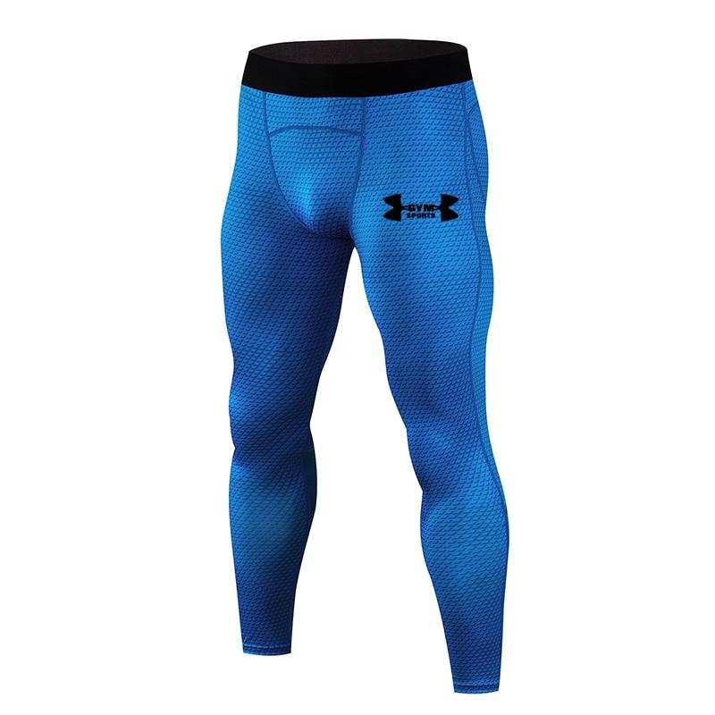 2019 Hot New Compression Pants Jogger Men Training Fitness Sports Leggings Gym Jogging Long Pant Male Sportswear Yoga Bottoms 4