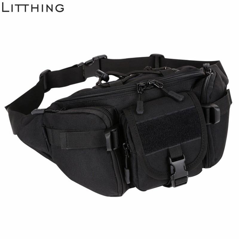 SHUJIN Men Waterproof  Waist    Military   Bag Hiking Fishing Hunting Camping Travel Hip Bum Belt #Ne