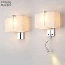 Lámpara de pared Industrial candelabro de hotel para escalera, accesorio de iluminación para sala de estar, dormitorio, iluminación interior, lámpara de decoración de pared E27