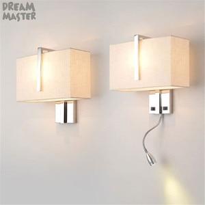 Image 1 - الصناعية مصباح جدار فندقي moden الشمعدان أضواء لدرجات السلم تركيبات غرفة المعيشة غرفة نوم إضاءة داخلية E27 ديكور جدار الإضاءة lampen