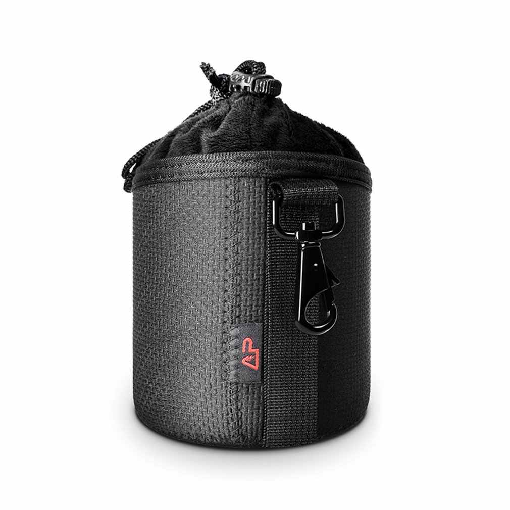 Tahan Air Pelindung Lensa Kamera Case Foto Lensa DSLR Tas Kantong Serut Ketebalan Lembut DSLR Tas Lensa untuk Canon Nikon Lensa