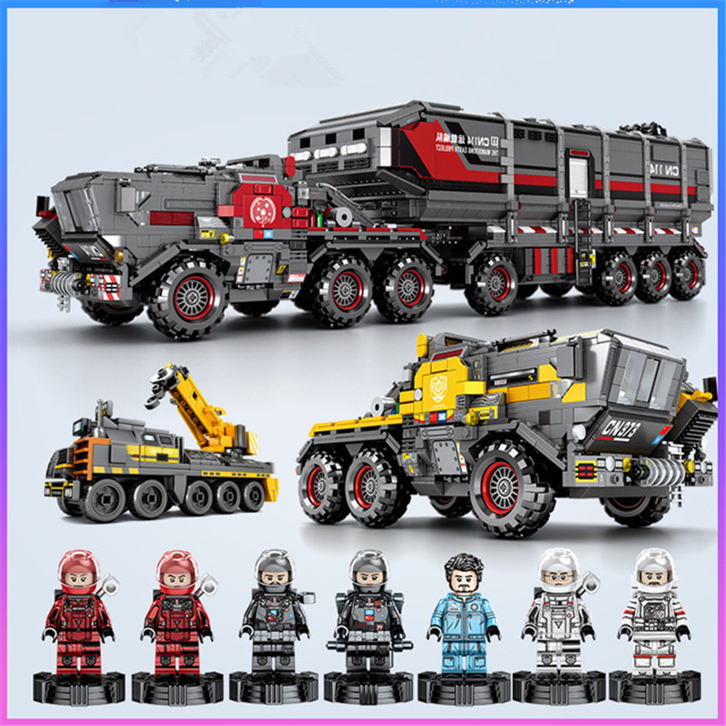 3712pcs The Wandering Earth Building Blocks Technic City Legoed Bricks Model Set