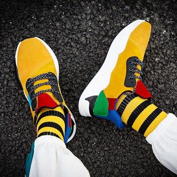 Zapatillas de correr para hombre a la moda, zapatillas informales cómodas, zapatillas...