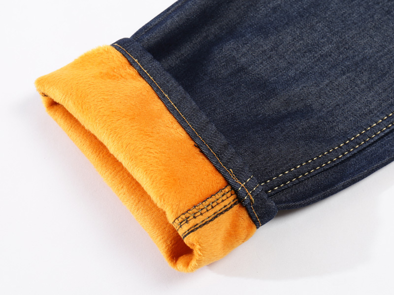 2019 New Men Activities Warm Jeans High Quality Famous Brand TANGYAXUAN Autumn Winter Jeans warm flocking warm soft men jeans 40