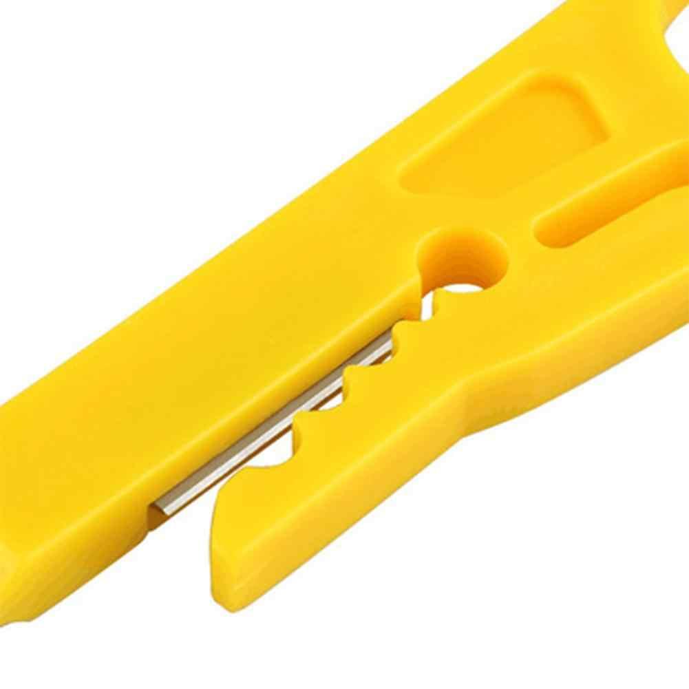 Przenośny ściągacz do kabli szczypce do zaciskania zaciskania MultiTools ściąganie izolacji z kabla przecinak do drutu kieszonkowe narzędzie do zaciskania