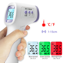 Forehead Body-Temperature-Meter Infrared Baby Non-Contact LCD Adult Digital 3-Colors